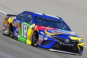 "Kyle Busch not worried about Harvick's dominance: ""It's early"""
