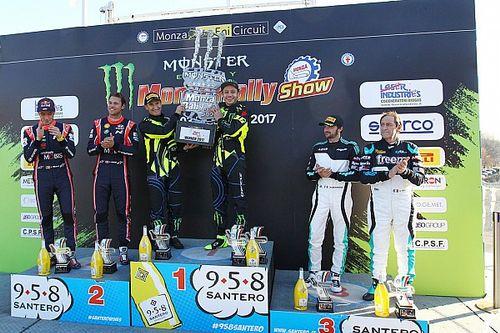 Rossi remonta y conquista su sexto Monza Rally Show