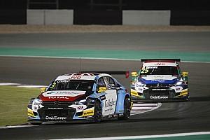 WTCC Race report Qatar WTCC: Chilton wins as Bjork closes on title