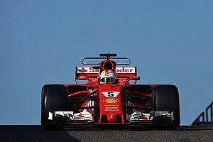 Vettel lidera el último test de F1 con Kubica en 7º