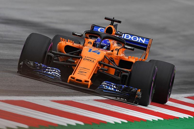 ألونسو يتجه للانطلاق من خط الحظائر في سباق جائزة النمسا الكبرى