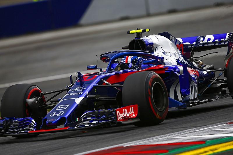 オーストリアFP3速報:ベッテルが首位。トロロッソのガスリー12番手