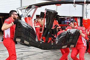 Avusturya GP: Garajlardan en yeni teknik fotoğraflar
