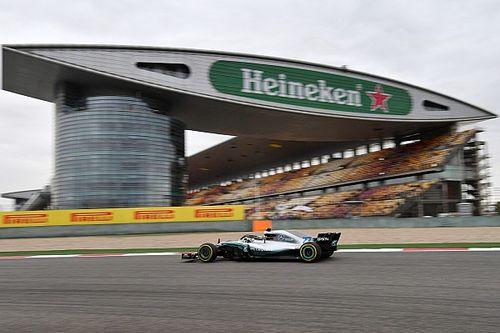 中国大奖赛周五自由练习:汉密尔顿全天最快,但莱科宁紧随其后