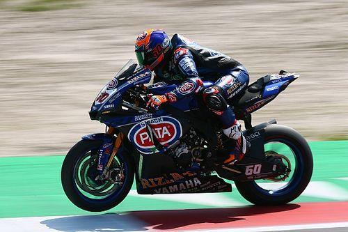 Van der Mark régale devant son public, les Ducati devant les Kawasaki