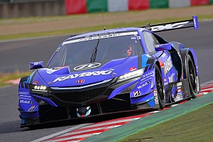 Super GT Testing report Button tops Day 1 of Suzuka Super GT test