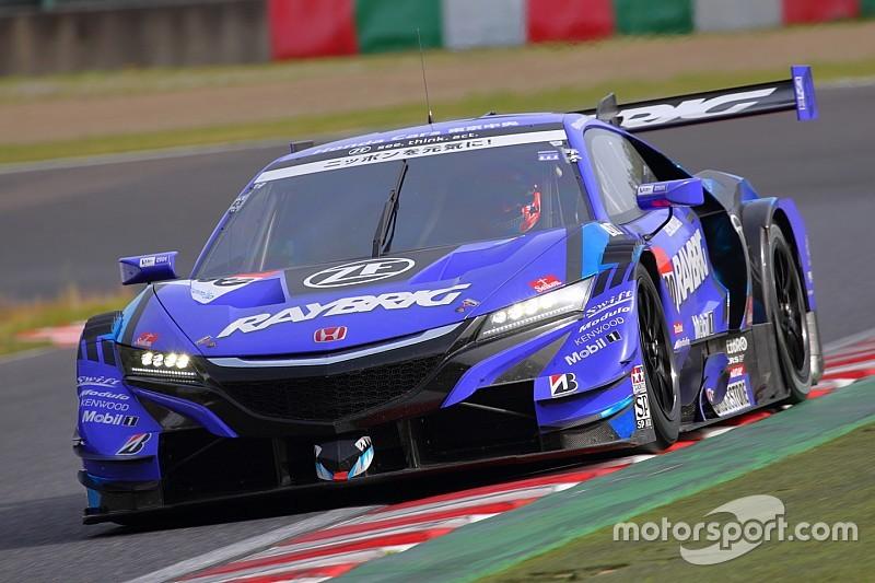 鈴鹿公式テスト1日目、RAYBRIGNSX-GTのジェンソン・バトンが最速