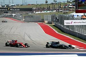 Hamilton domina en Austin y Ferrari no logra sorprender con la estrategia