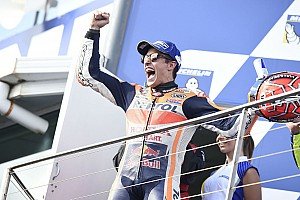 MotoGP Breaking news Marquez: 33-point buffer makes me happier than win