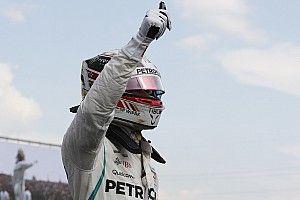 Hamilton agradece el regalo del cielo llevándose la pole en Hungría