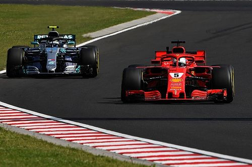 Pour Whiting, Bottas n'aurait pas été pénalisé si Vettel avait crevé