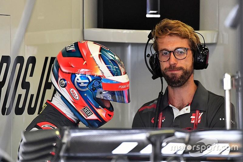 """Grosjean, zorlu başlangıca rağmen """"geri döndüğü"""" için mutlu"""
