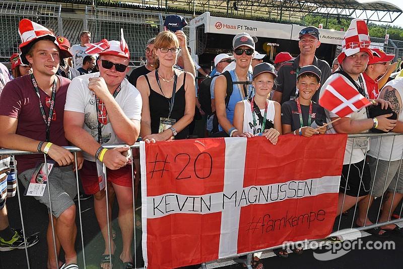 Magnussen: Danimarka'nın F1 şansı %50