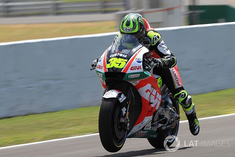 Jerez MotoGP: Crutchlow breaks lap record to take pole