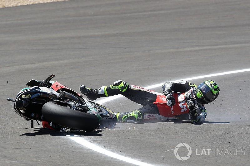 """Crutchlow: """"No creo que Márquez hubiera ganado tan fácilmente con mi moto"""""""