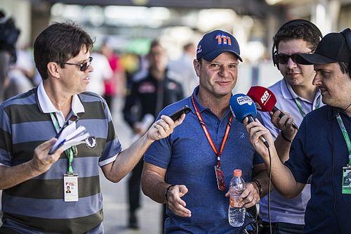 Ex-Formel-1-Pilot Rubens Barrichello bei den 24 Stunden von Spa