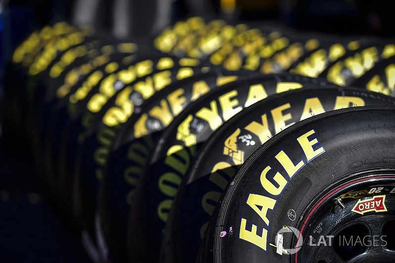 Goodyear debuts new tires at Michigan for Cup and Xfinity Series