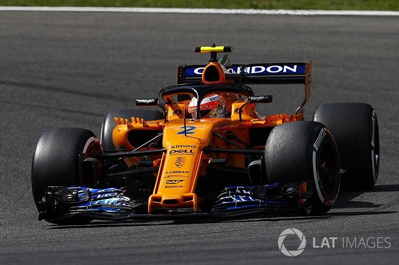 Vandoorne pályabejáró videója az F1-es játékban: Belga Nagydíj