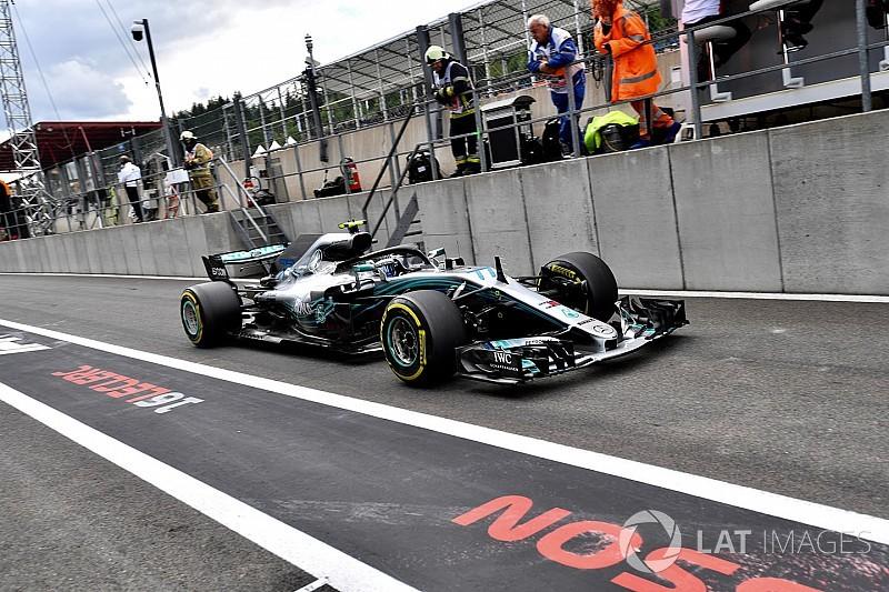 Bottas elvette a leggyorsabb kört Vetteltől és Hamiltontól