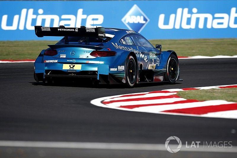 Brands Hatch DTM: Paffett beats di Resta to pole