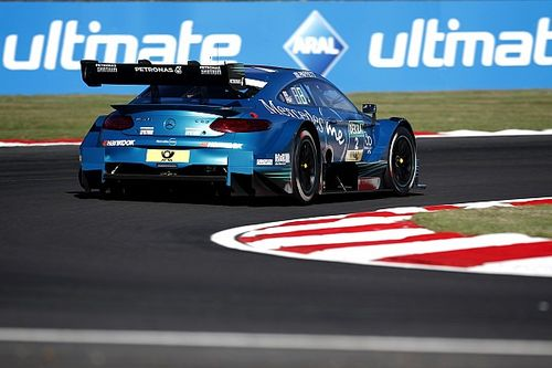 Brands Hatch DTM: Paffett beats di Resta to pole