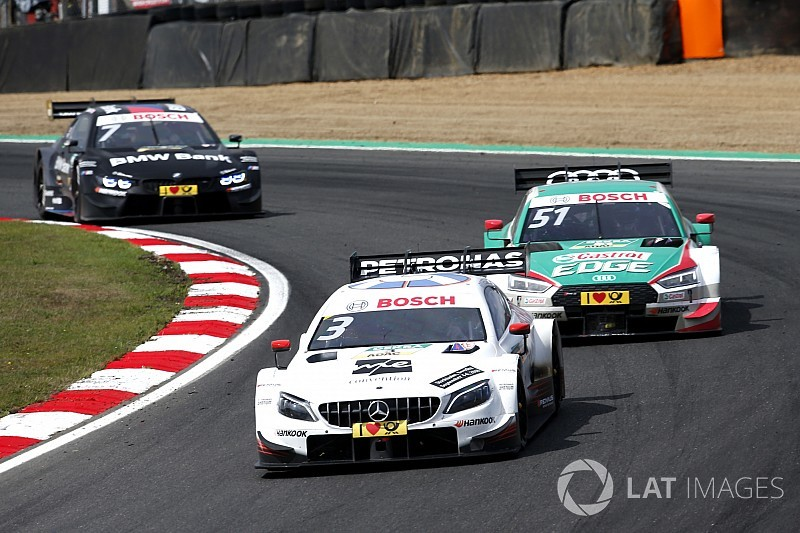 Brands Hatch DTM: Di Resta, Paffett'e direnerek kazandı