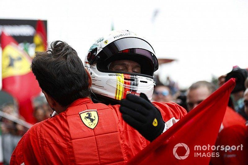 """Vettel: """"Ahora sí tenemos un coche que va bien en todos lados"""""""