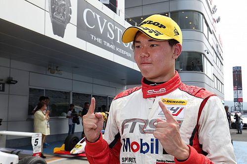小高一斗が今季初V、角田裕毅の連勝がついにストップ|FIA-F4第7戦
