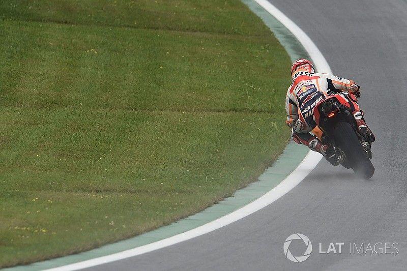 """Márquez: """"En Austria confirmamos que vamos rápido con lluvia"""""""