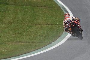 Márquez lidera la práctica 3 y Rossi irá a la Q1