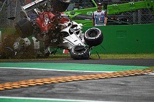 GALERIA: As imagens do brutal acidente de Ericsson em Monza