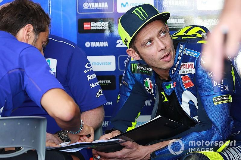 Rossi motorján rengeteget változtattak, de egyik verzió sem működött