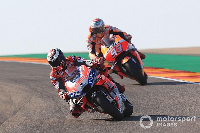 """Ducati in Aragon nur von Marquez gestoppt: """"Haben den besseren Speed"""""""