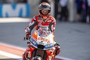 Jorge Lorenzo verrät: Bei Ducati auch in schwierigen Zeiten nie Druck gespürt