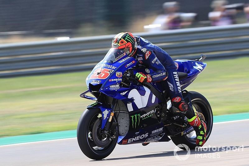 MotoGP, Buriram, Libere 1: Vinales e Rossi firmano la doppietta Yamaha