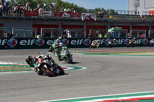 Brianti vince Gara 1, ma poi cade in Gara 2 ad Imola, dove arriva la prima vittoria di Luna Bayen
