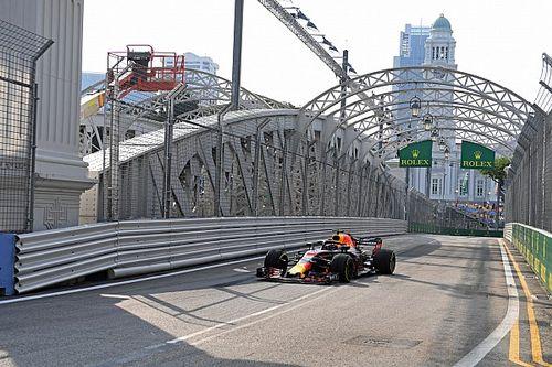 Singapur GP 1. antrenman: Ricciardo lider, Red Bull 1-2