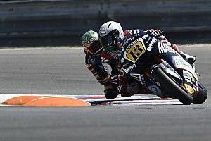 Гонщик Moto2 на полной скорости дернул ручку тормоза мотоцикла соперника: видео