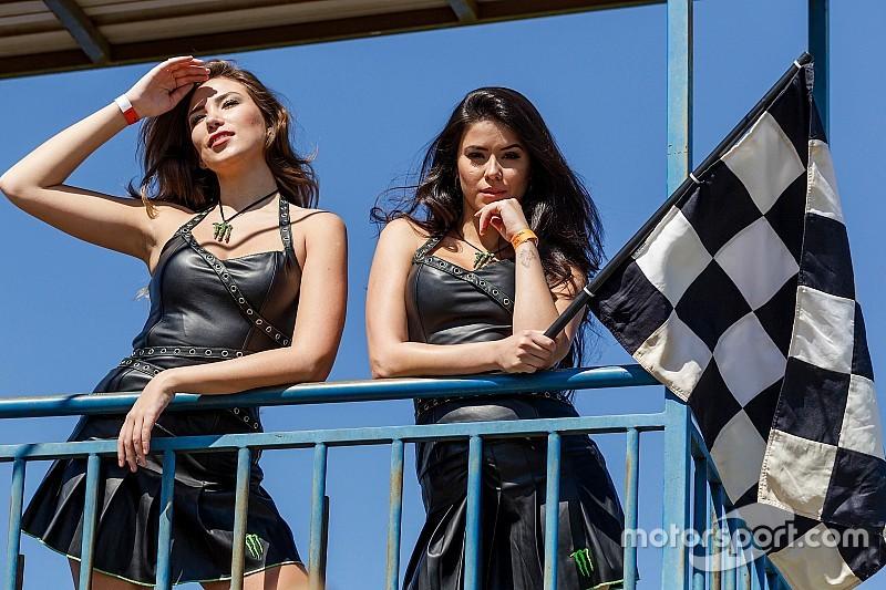 Grid girls colorem o paddock da Stock Car em Cascavel