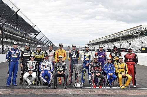 Which playoff drivers are in danger of being eliminated at the Roval?