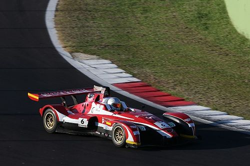 Matteo Pollini si impone in Gara 1 a Vallelunga