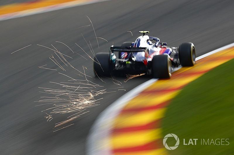 Онлайн. Гран При Бельгии: вторая тренировка