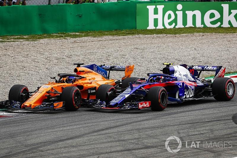 Alonso nagyon csalódott a kiesése miatt az Olasz Nagydíjon