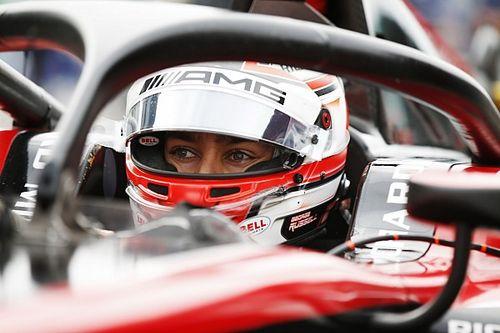 F2 Abu Dhabi: Russell pimpin latihan, Gelael ke-15