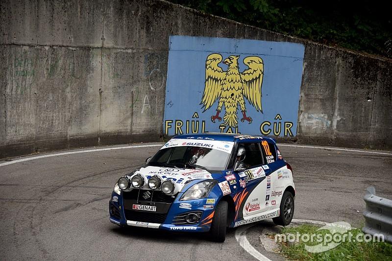 Suzuki Rally Cup: la prima di Roberto Pellè al Rally del Friuli