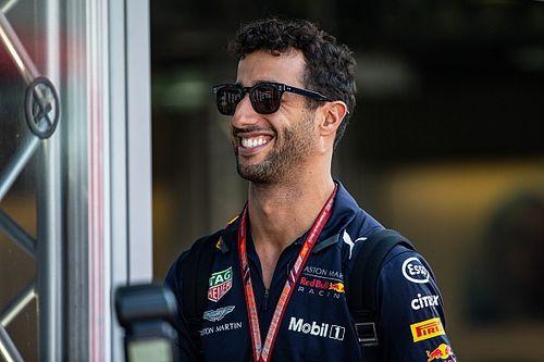 """Ricciardo: """"Sono stupito di Kimi alla Sauber. Pensavo che si ritirasse dalla F1!"""""""