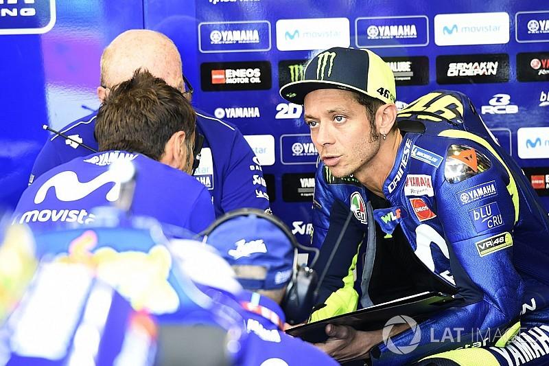 Rossi: Encore beaucoup à faire pour viser une bonne course