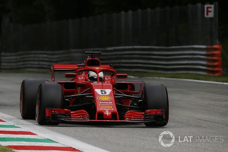 Vettel ook snelste in derde training, Verstappen met Spec C op P5