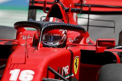 """Leclerc: """"Aracın hızı 'şimdilik' bu"""""""