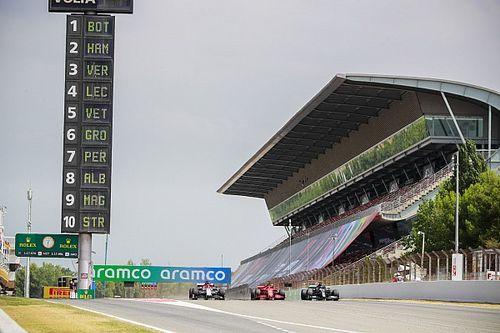 Volledige uitslag derde training Formule 1 Grand Prix van Spanje